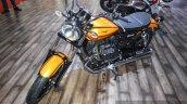 Moto Guzzi V9 Roamer front quarter at Auto Expo 2016