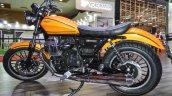 Moto Guzzi V9 Roamer rear suspension at Auto Expo 2016