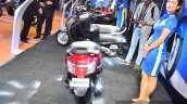 New Suzuki Access 125 Red rear at Auto Expo 2016
