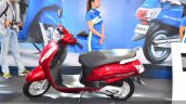 New Suzuki Access 125 Red side at Auto Expo 2016