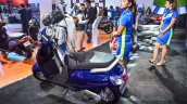 New Suzuki Access 125 rear three quarter left at Auto Expo 2016