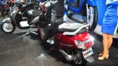 New Suzuki Access 125 rear three quarters left at Auto Expo 2016