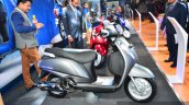New Suzuki Access 125 side at Auto Expo 2016