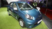 Nissan Micra Active T20 Edition front left three quarter at 2016 Auto Expo