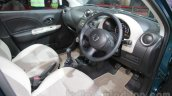 Nissan Micra Active T20 Edition interior at 2016 Auto Expo