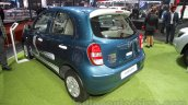 Nissan Micra Active T20 Edition rear left three quarter at 2016 Auto Expo