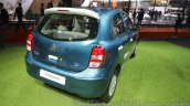 Nissan Micra Active T20 Edition rear right three quarter at 2016 Auto Expo