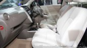 Nissan Sunny Sportech front seat at 2016 Auto Expo