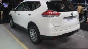 Nissan X-Trail Hybrid rear three quarters at Auto Expo 2016