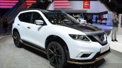 Nissan X-Trail Premium Concept front three quarter at the 2016 Geneva Motor Show Live