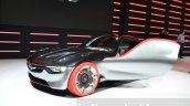 Opel GT Concept front three quarter at the 2016 Geneva Motor Show Live