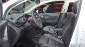 Opel Mokka X front cabin at the 2016 Geneva Motor Show Live