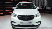 Opel Mokka X headlamp grille bumper at the 2016 Geneva Motor Show Live