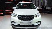 Opel Mokka X headlamp grille bumper at the 2016 Geneva Motor Show Live