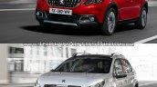 Peugeot 2008 old vs. new
