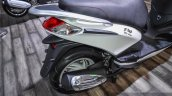 Piaggio Fly 125 exhaust at Auto Expo 2016
