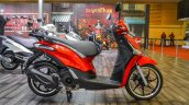Piaggio Liberty IGET 125 ABS side at Auto Expo 2016