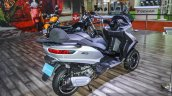 Piaggio MP3 300 Lt Sport ABS rear quarter at Auto Expo 2016