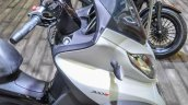 Piaggio MP3 300 Lt Sport ABS windscreen visor at Auto Expo 2016