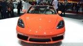 Porsche 718 Boxster S front at the Geneva Motor Show Live