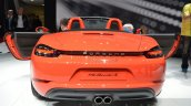 Porsche 718 Boxster S rear at the Geneva Motor Show Live