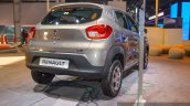 Renault Kwid 1.0 AMT rear quarter at the Auto Expo 2016