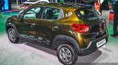 Renault Kwid 1.0 rear quarter at the Auto Expo 2016