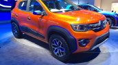 Renault Kwid Climber front three quarters at Auto Expo 2016