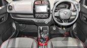 Renault Kwid custom dashboard at Auto Expo 2016
