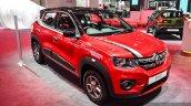 Renault Kwid custom front three quarters at Auto Expo 2016