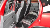Renault Kwid custom rear seat at Auto Expo 2016