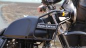 Royal Enfield Himalayan black fuel tank unveiled