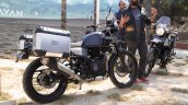 Royal Enfield Himalayan black rear quarter unveiled