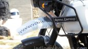 Royal Enfield Himalayan front mud guard unveiled