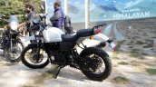 Royal Enfield Himalayan white left side unveiled