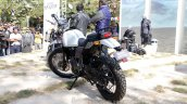 Royal Enfield Himalayan white rear quarter unveiled