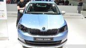 Skoda Fabia Combi ScoutLine front at the 2016 Geneva Motor Show Live