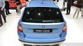 Skoda Fabia Combi ScoutLine rear at the 2016 Geneva Motor Show Live