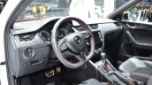 Skoda Octavia RS 4X4 interior at the 2016 Geneva Motor Show Live