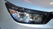 SsangYong Tivoli headlamp at Auto Expo 2016