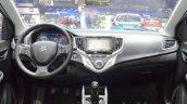 Suzuki Baleno 1.0 Boosterjet dashboard at 2016 Geneva Motor Show