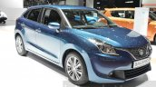 Suzuki Baleno 1.2 SHVS headlamp, bumper, grille at 2016 Geneva Motor Show