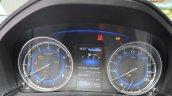 Suzuki Baleno 1.2 SHVS instrument cluster at 2016 Geneva Motor Show