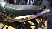 Suzuki Hayate EP rear end at the Auto Expo 2016