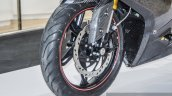 TVS Akula 310 front disc brake at Auto Expo 2016
