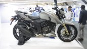 TVS Apache RTR 200 4V Matte Gray side at Make In India Week