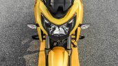 TVS Apache RTR 200 4V front top review