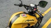 TVS Apache RTR 200 4V fuel tank review