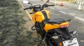 TVS Apache RTR 200 4V rear quarter review