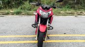 TVS Apache RTR 200 4V red front review